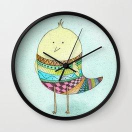 Little Claire's Bird Wall Clock