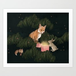 the peace offering Art Print