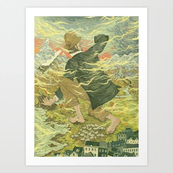 The Frontier Art Print