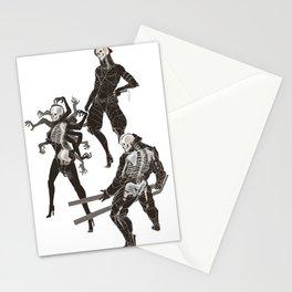 MGR Bones Stationery Cards