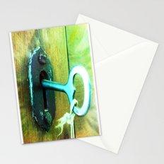 heart key Stationery Cards