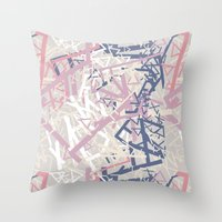 cuba Throw Pillows featuring Cuba by Patricia Freitas