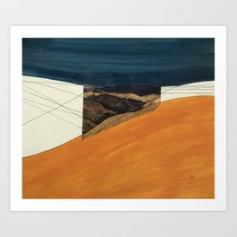 Land Extension Art Print