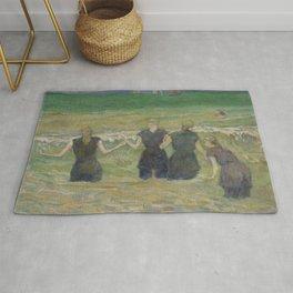 "Paul Gauguin - Women Bathing ""Baigneuses à Dieppe"" (1885) Rug"