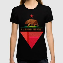 California 2 (rectangular version) T-shirt