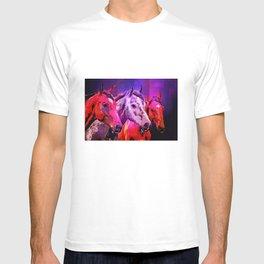 Three Horses T-shirt