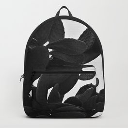 Cactus in Black And White Backpack