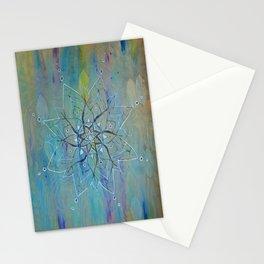 Pyrographic Mandala Stationery Cards