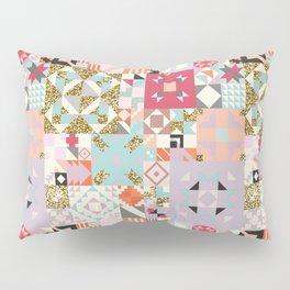 Moroccan Quilt Pattern Pillow Sham