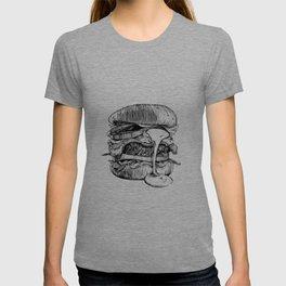 Mac'n ink Burger T-shirt