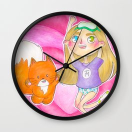 TRUSEMARTHE + MIKKELINE POSTER Wall Clock
