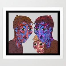 Prism Triplets Art Print