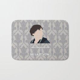 His Last Vow - Sherlock Holmes Bath Mat
