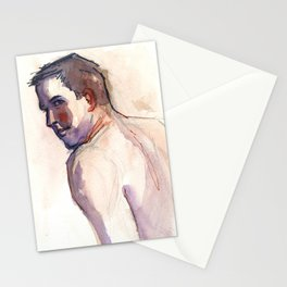 PATRICK, Semi-Nude Male by Frank-Joseph Stationery Cards