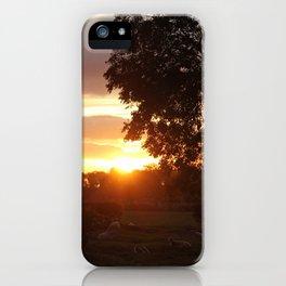 Autumnal Face iPhone Case