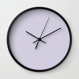 Blue Haze - Solid Color Wall Clock