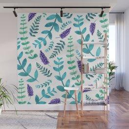 Greenery Pattern II Wall Mural