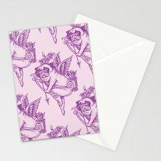 Stupid Pug Cupid Stationery Cards