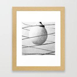 Tu guarda dove ci ha portato il Sole... Framed Art Print