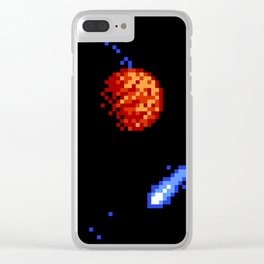The Voyage of a Wishing Star Clear iPhone Case