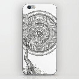 Sunrise Mandala with Tree iPhone Skin