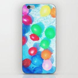 Celebratory Balloons iPhone Skin