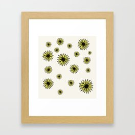 Yellow Sunflower Framed Art Print