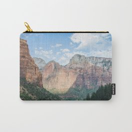 Zion National Park - Utah Natural Landscape, Sunset Photography Carry-All Pouch
