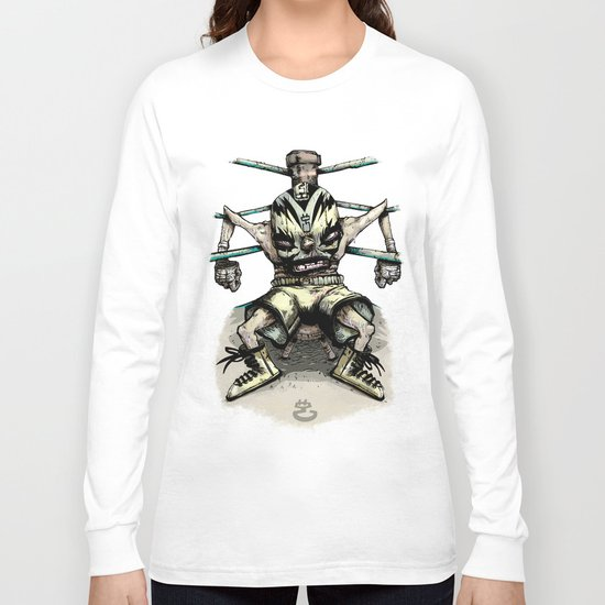 El Rudo Hurricane Miguel Long Sleeve T-shirt