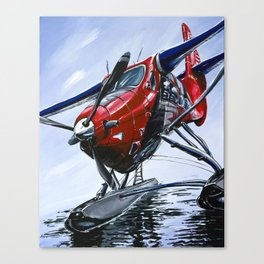Captain Canada Canvas Print