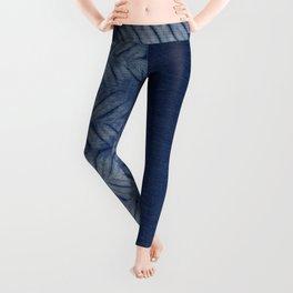 Shibori Chevron Stripe Leggings
