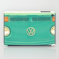 vw iPad Cases featuring Groovy VW by RDelean