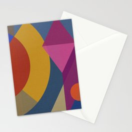Mutt's Nuts FOUR Square Stationery Cards