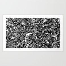 DDWIWDD (Still Frame 2) Art Print