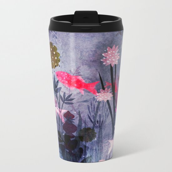 small world Metal Travel Mug