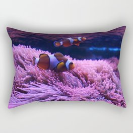 Nemo and his mother soul Rectangular Pillow
