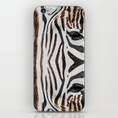 EYE OF THE ZEBRA iPhone & iPod Skin