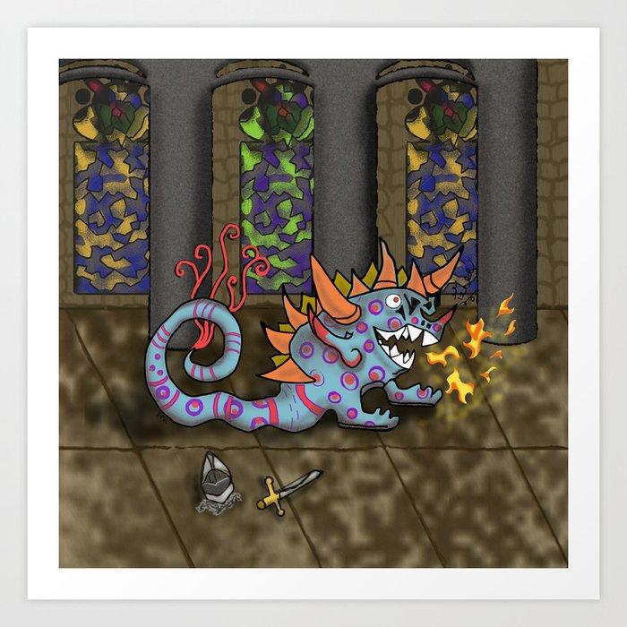 The Doodlethwumpus Art Print