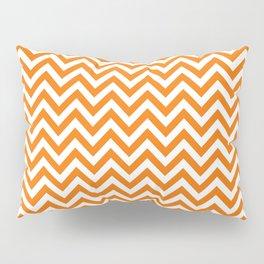 Orange Crush Chevron - more colors Pillow Sham