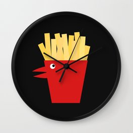 Chicken Tenders and French Fries Wall Clock