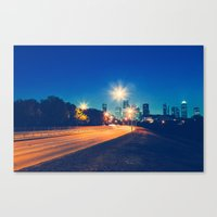 houston Canvas Prints featuring Houston by GF Fine Art Photography