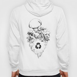 Recycle, naturally. Hoody