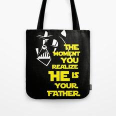 Vader Spoiler Tote Bag