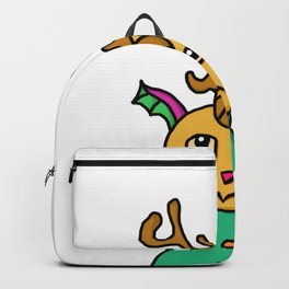 Curvy Horned Creature Backpack