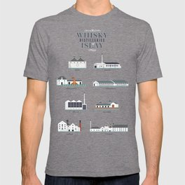 Whisky Distilleries of Islay T-shirt