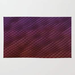 Dragon Scales Pattern Rug