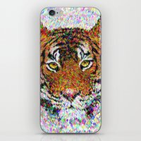 tiger iPhone & iPod Skins featuring Tiger by David Zydd