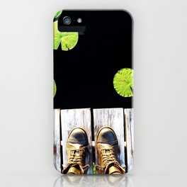 Lily Pads iPhone Case