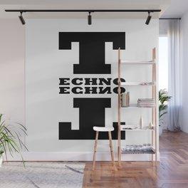 Techno Anagram Wall Mural
