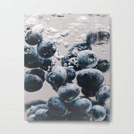 A Fruitful Splash Metal Print